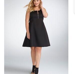 Rebel Wilson for Torrid fit and flare dress